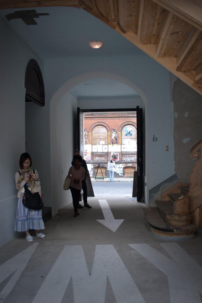 Eingang Kunst-Werke