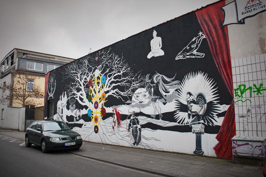 Streetart at Lichtstraße