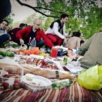 Unsere Picknickdecke