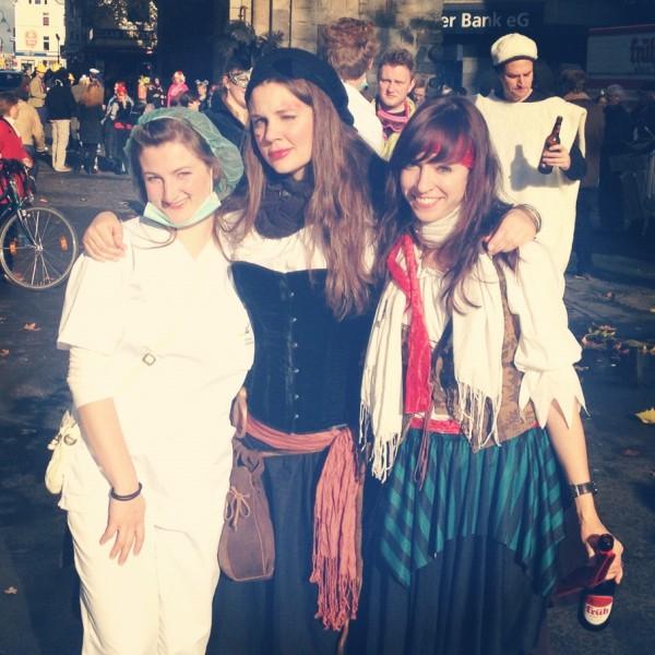 Carnival 2013 - at Severinstorburg (Chlodwigplatz)