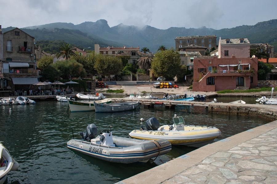Erbalunga habour, Cap Corse