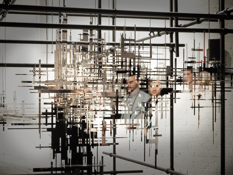 """Erik Olofsen - """"White Noise, 2014"""""""