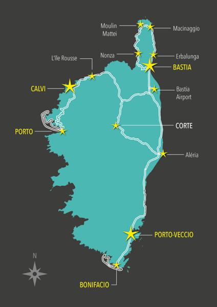 Corsica Routes 2014